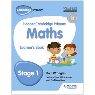 Hodder Cambridge Primary Maths: Learner's Book Stage 1 - ISBN 9781471884313