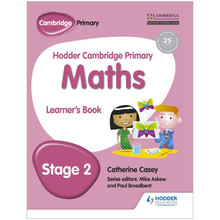 Hodder Cambridge Primary Maths: Learner's Book Stage 2 - ISBN 9781471884337
