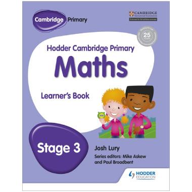 Hodder Cambridge Primary Maths: Learner's Book Stage 3 - ISBN 9781471884368