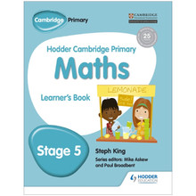 Hodder Cambridge Primary Maths: Learner's Book Stage 5 - ISBN 9781471884405