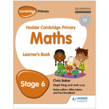 Hodder Cambridge Primary Maths: Learner's Book Stage 6 - ISBN 9781471884429