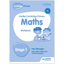 Hodder Cambridge Primary Maths: Workbook Stage 1 - ISBN 9781471884566