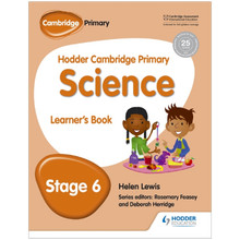 Hodder Cambridge Primary Science: Learner's Book Stage 6 - ISBN 9781471884085