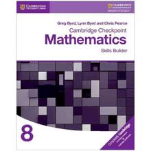 Cambridge Checkpoint Mathematics Skills Builder 8 - ISBN 9781316637395