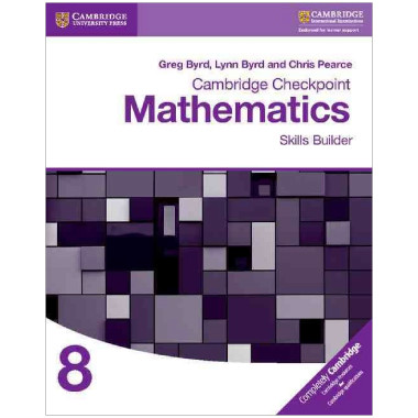 Cambridge Checkpoint Mathematics Skills Builder 8 - ISBN 9781316637395