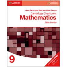 Cambridge Checkpoint Mathematics Skills Builder 9 - ISBN 9781316637401