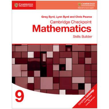 Cambridge Checkpoint Mathematics Skills Builder 9 - ISBN 9781316637401