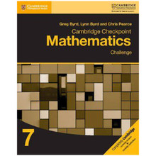 Cambridge Checkpoint Mathematics Challenge Workbook 7 - ISBN 9781316637418