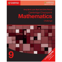 Cambridge Checkpoint Mathematics Challenge Workbook 9 - ISBN 9781316637432