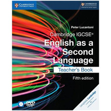 IGCSE English as a Second Language Teacher's Book with Audio CD's & DVD 5th Edition - ISBN 9781316636589
