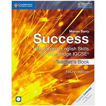 Success International English Skills for IGCSE Teacher's Book with CDs (4th Edition) - ISBN 9781316637104