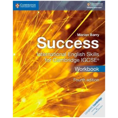 Success International English Skills for IGCSE Workbook (4th Edition) - ISBN 9781316637081