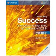 Success International English Skills for IGCSE Workbook (4th Edition) - ISBN 9781316637081