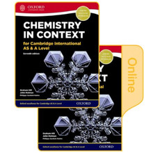 Chemistry in Context for Cambridge AS & A Level Print & Online Student Book Pack - ISBN 9780198396215