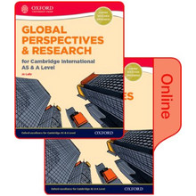 Global Perspectives and Research for Cambridge International AS & A Level Print & Online Book - ISBN 9780198376767