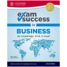 Business for Cambridge International AS and A Level Exam Success Guide - ISBN 9780198412793