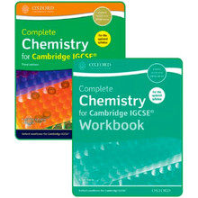 Complete Chemistry for Cambridge IGCSE Student and Workbook Pack - ISBN 9780198409854