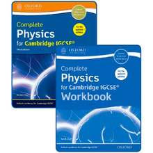 Complete Physics for Cambridge IGCSE Student and Workbook Pack - ISBN 9780198409861