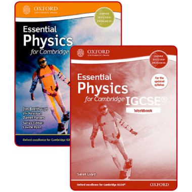 Essential Physics for Cambridge IGCSE® Student and Workbook Pack - ISBN 9780198409892