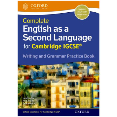 Complete English as a Second Language IGCSE Writing and Grammar Practice Book - ISBN 9780198396086