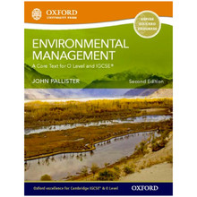 Environmental Management for Cambridge O Level & IGCSE Student Book 2nd Edition - ISBN 9780199407071