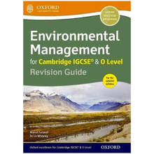 Environmental Management for Cambridge IGCSE & O Level Revision Guide - ISBN 9780198378341