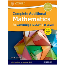 Complete Additional Mathematics for Cambridge IGCSE & O Level - ISBN 9780198376705