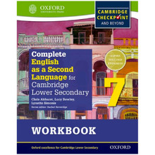Complete English as a Second Language for Cambridge Secondary 1 Workbook 7 - ISBN 9780198378150