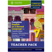 Complete English as a Second Language for Cambridge Secondary 1 Teacher Resource Pack 7 - ISBN 9780198378181