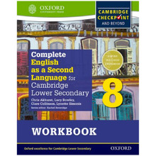English as a Second Language for Cambridge Secondary 1 Workbook 8 - ISBN 9780198378167