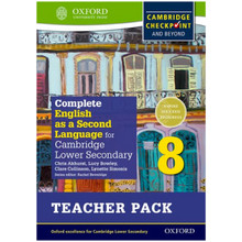 Complete English as a 2nd Language Secondary 1 Teacher Resource Pack 8 - ISBN 9780198378198