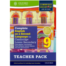 Complete English as a 2nd Language Secondary 1 Teacher Resource Pack 9 - ISBN 9780198378204