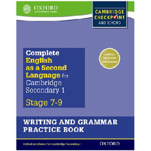 Complete English as a Second Language for Cambridge Secondary 1 Writing & Grammar Practice Book - ISBN 9780198378211