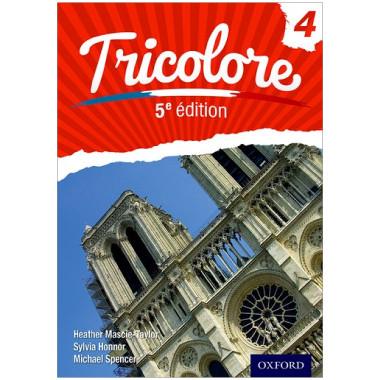 Oxford IGCSE Tricolore 4 Student Book (5th Edition) - ISBN 9780198374756