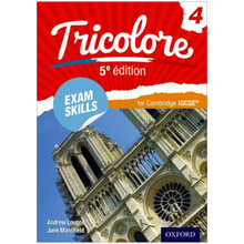 Oxford Tricolore 4 Exam Skills for Cambridge IGCSE Workbook & Audio CD (5th Edition) - ISBN 9780198412076