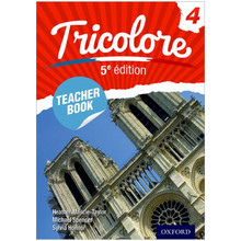 Cambridge IGCSE Tricolore 4 Teacher Book 5th Edition - ISBN 9780198374763