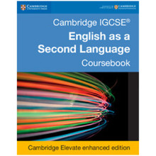 Cambridge IGCSE® English as a Second Language Fifth Edition Coursebook Cambridge Elevate Enhanced Edition (2Years) - ISBN 9781316636541