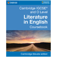 Cambridge IGCSE and O Level Literature in English Coursebook Cambridge Elevate edition (2Years) - ISBN 9781108439923