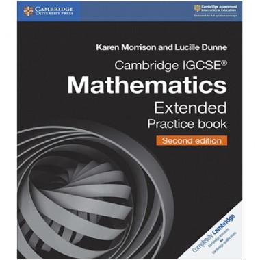 Cambridge International IGCSE Mathematics Extended Practice Book - ISBN 9781108437219