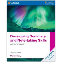 Developing Summary and Note-taking Skills without Answers - ISBN 9781108440691