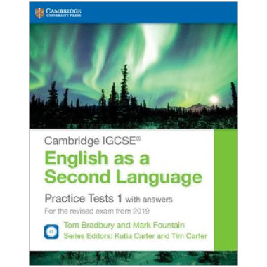 Cambridge IGCSE English as a Second Language Practice Tests 1 with Answers - ISBN 9781108546102