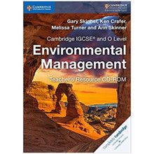 Cambridge IGCSE and O Level Environmental Management Teacher's Resource CD-ROM - ISBN 9781316634905