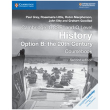 IGCSE & O Level History Coursebook Option B: the 20th Century Elevate Edition (2 Years) - ISBN 9781108439503