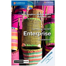 Cambridge IGCSE Enterprise Coursebook with Cambridge Elevate Edition (2 Years) - ISBN 9781108339254