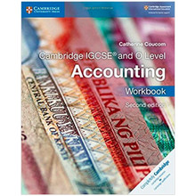 Cambridge IGCSE and O Level Accounting Workbook - ISBN 9781316505052