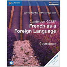 Cambridge IGCSE French as a Foreign Language Coursebook with Audio CDs - ISBN 9781316623589