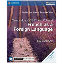 IGCSE French as a Foreign Language Coursebook with Audio CDs & Elevate Enhanced Edition (2 Years) - ISBN 9781316645994