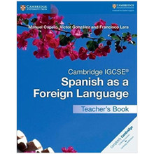 Cambridge IGCSE Spanish as a Foreign Language Teacher's Book - ISBN 9781316635551