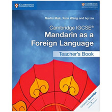 Cambridge IGCSE Mandarin as a Foreign Language Teacher's Book - ISBN 9781316629901