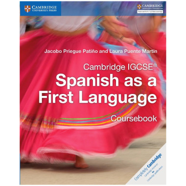 Cambridge IGCSE Spanish as a First Language Coursebook - ISBN 9781316632918